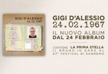 """Gigi D'Alessio, nuovo album """"24 febbraio 1967"""": Audio e Recensione"""