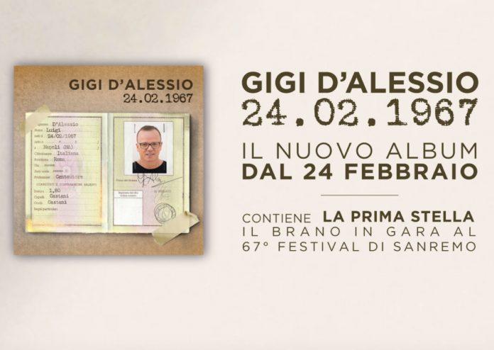 Gigi D'Alessio, nuovo album