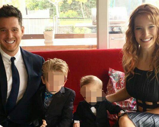 Michael Bublé, Figlio Malato di cancro ma sta guarendo