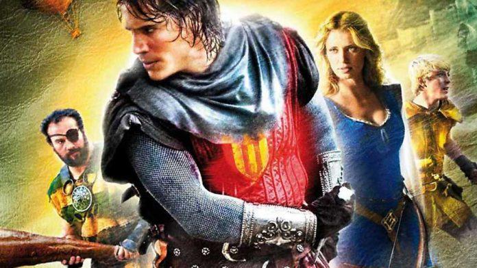 Il Cavaliere del Santo Graal su Italia 1 (5 Febbario 2017)