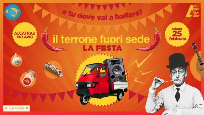 Milano, all'Alcatraz Festa del Terrone fuori sede: Data, Programma e Biglietti