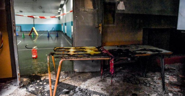 Milano, Incendio nella Scuola Elementare Giovanni Pascoli