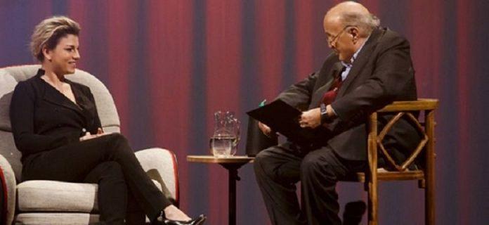 L'Intervista su Canale 5, Emma ospite di Maurizio Costanzo (16 febbraio 2017)