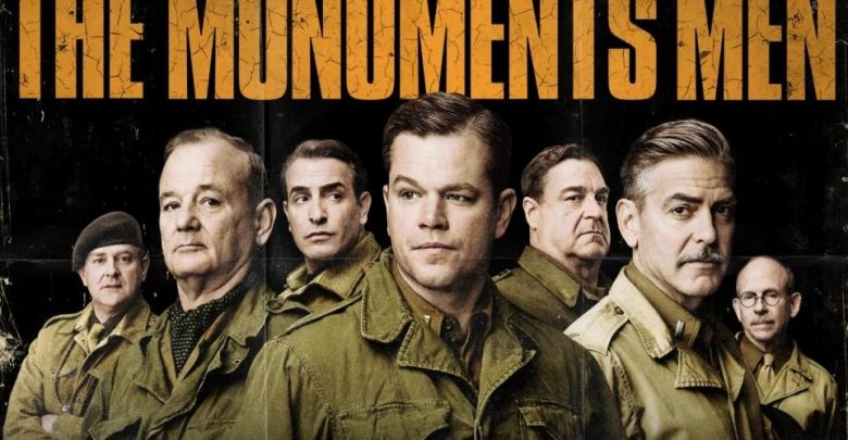 Monument Man su Rete 4, Film con George Clooney