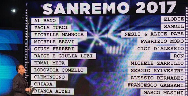 Nuovi Album Febbraio 2017: Date uscite discografiche Festival di Sanremo