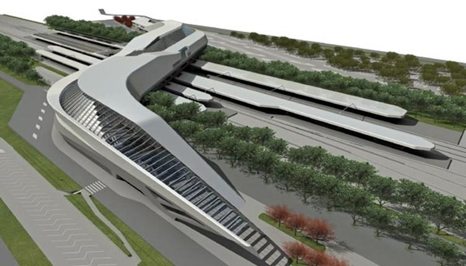 Stazione Napoli Afragola: apertura prevista per giugno 2017