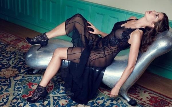 "Stephanie Seymour: collezione Lingerie ""Raven & Sparrow"""