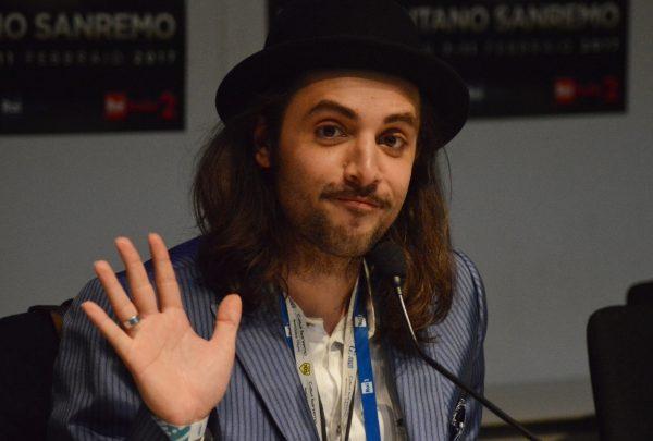 Tommaso Pini al Festival di Sanremo 2017: Video Conferenza Stampa