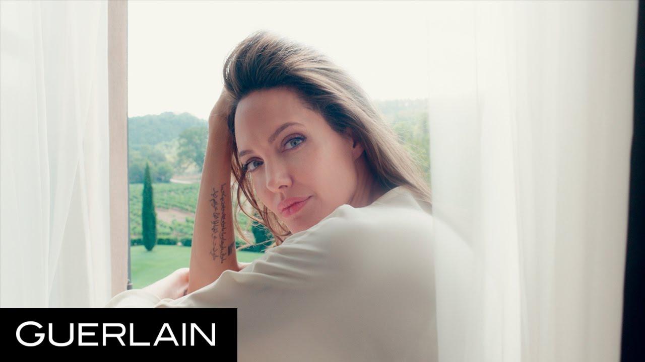 Angelina Jolie spot per Mon Guerlain (Video)