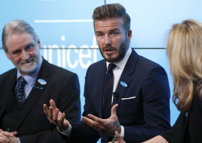 David Beckham, Mail Hackerata: parole dure contro UNICEF e Regina