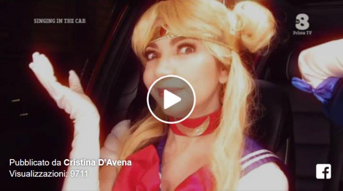 Singing in the car, ospite Cristina D'Avena (Video)