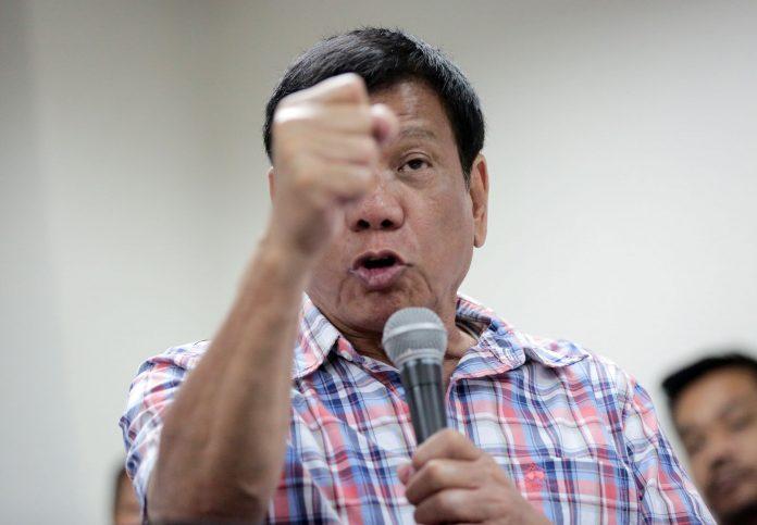Filippine, Presidente Duterte: