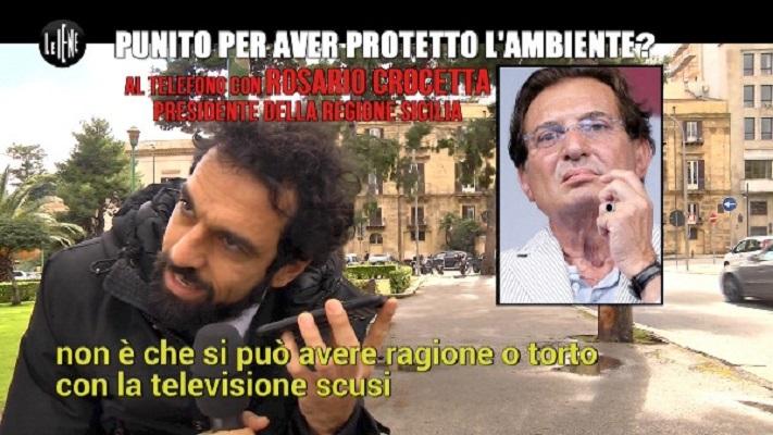 Inceneritori in Sicilia, Le Iene Show Video servizio su Rosario Crocetta
