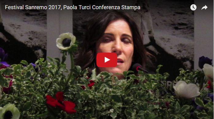"""Paola Turci a Sanremo 2017: """"La mia canzone un inno alle donne"""" (Video)"""