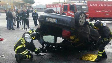 Photo of Roma, Incidente sulla Tangenziale Est: a Portonaccio auto precipita in deposito Atac