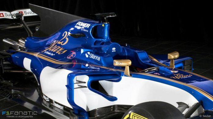 Sauber F1 2017, presentata la nuova C36 per il Mondiale 1