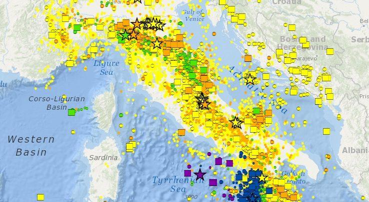 Terremoti INGV Lista in Tempo Reale, scosse di oggi (14 febbraio 2017)