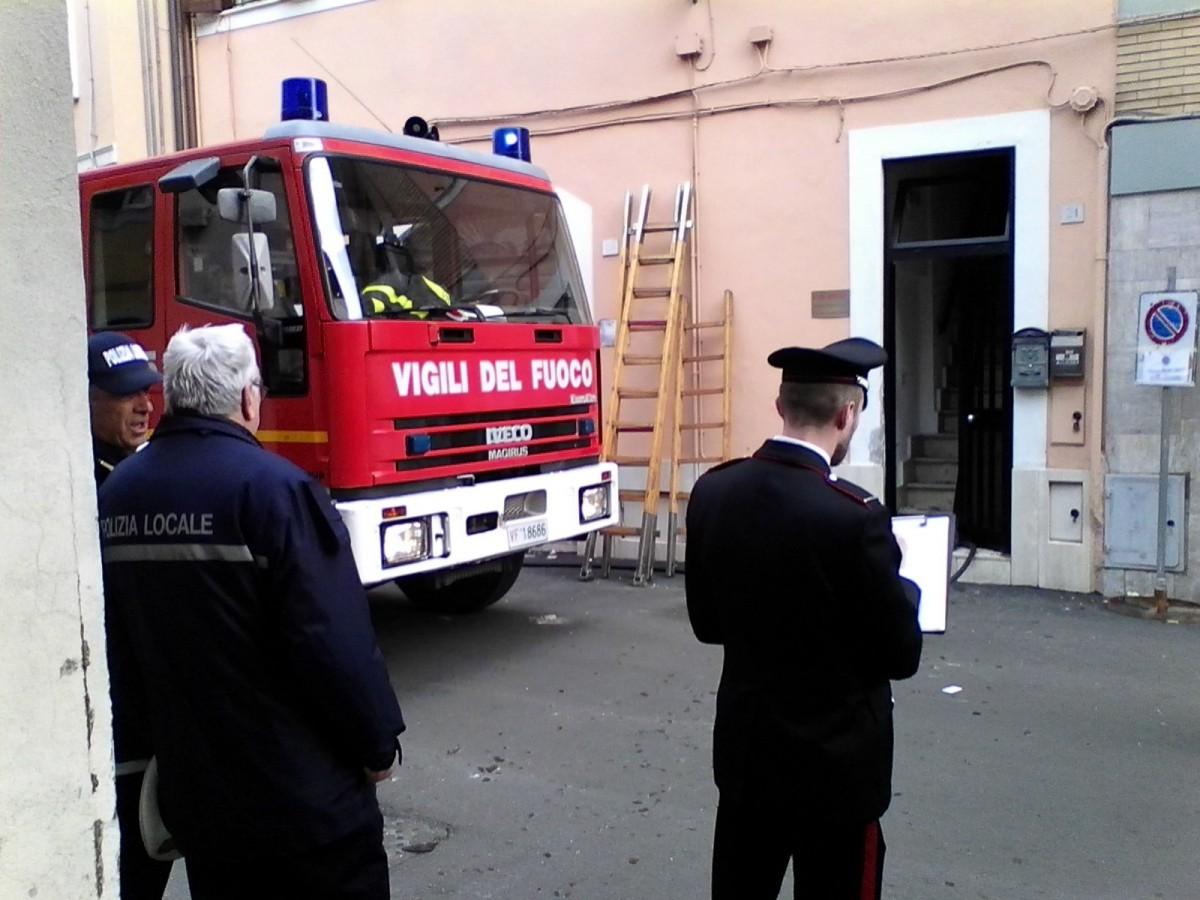 Velletri, Esplosione in un Palazzo: quattro feriti