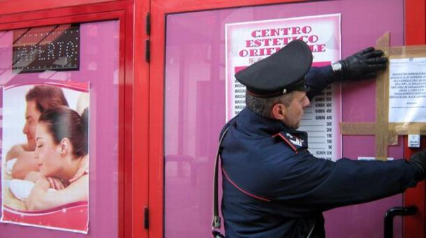 Roma, chiusi 5 Centri Massaggi Cinesi: 7 Arresti