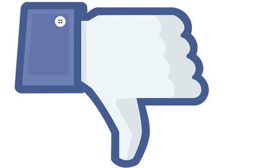 """Facebook Dislike: Arriva il temuto """"Non mi piace"""""""