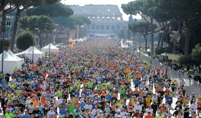 Maratona di Roma 2017: 105 Radio Ufficiale 1