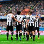 Sampdoria-Juventus 0-1, Risultato Finale