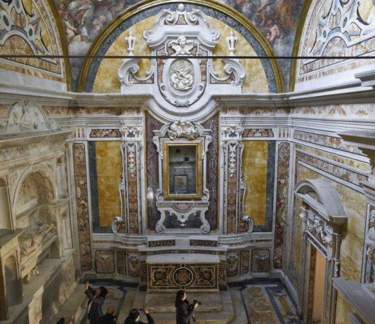 Restauro Cappella Pignatelli Finito: riapre a Pasqua 2