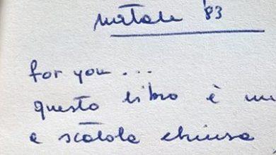 Photo of #Cercandosergio: la Dedica di un Vecchio Libro diventa virale