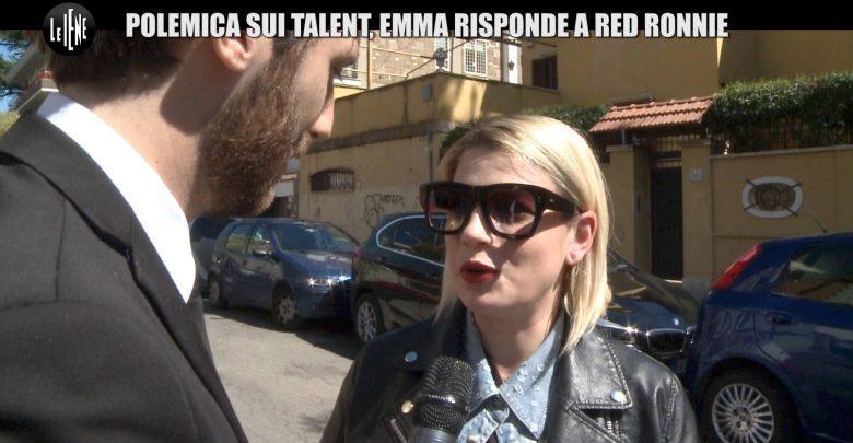 Lite Emma Marrone-Red Ronnie sui Talent: Servizio Le Iene (29 marzo) 1