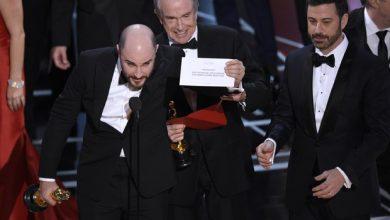Photo of Oscar 2017 gaffe: licenziato responsabile della Busta Sbagliata