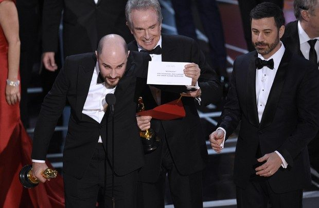 Oscar 2017, Errore Premiazione Vincitore Miglior Film: i Retroscena