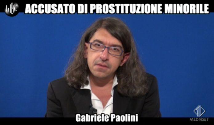 Gabriele Paolini, Intervista a Le Iene: Servizio 19 marzo 2017
