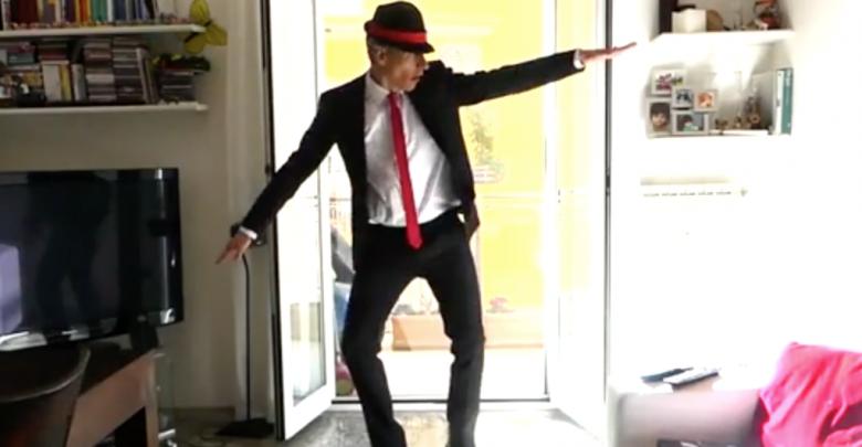 Giovanni Vernia imita il ballerino della Tim Sven Otten (Video)