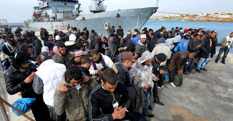 """Salvini a Lampedusa: """"L'Italia difenda i propri confini"""""""