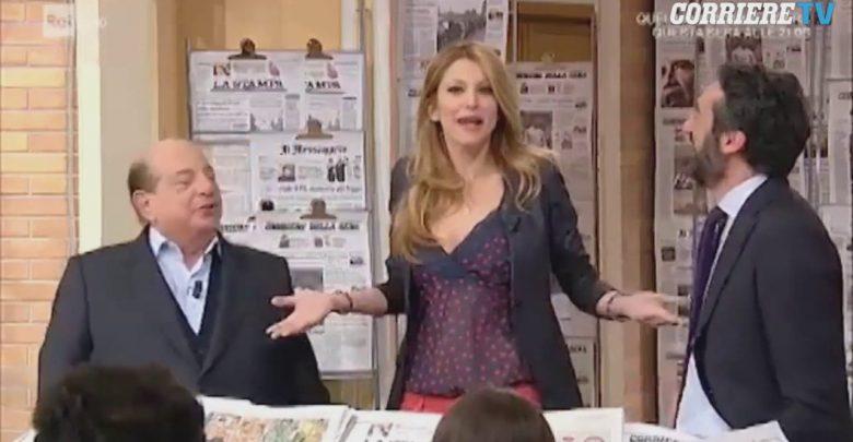 I fatti vostri: lite tra Giancarlo Magalli e Adriana Volpe (Video)