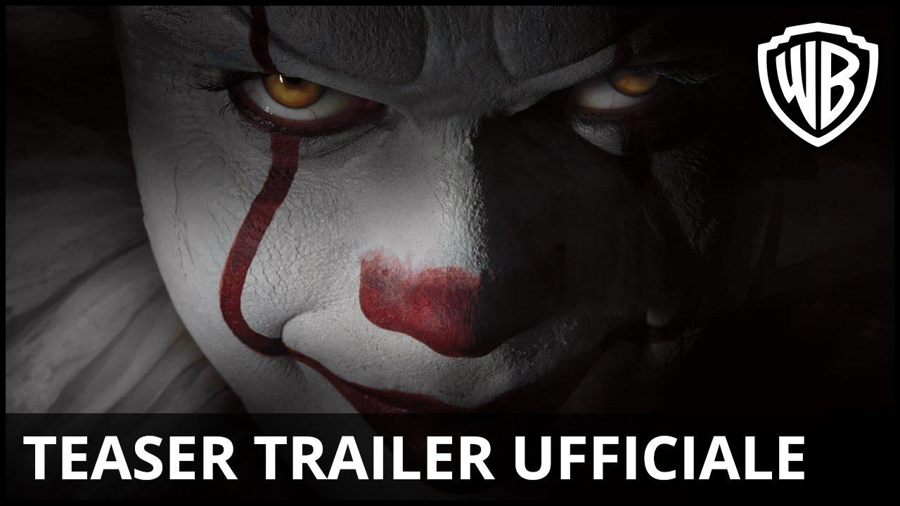 IT: il trailer 2017 ufficiale in Italiano, aspettando l'uscita al cinema 2