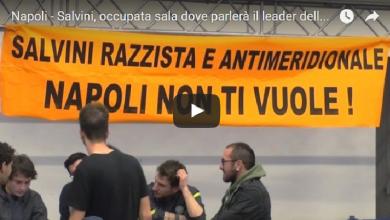 Photo of Salvini a Napoli: Manifestanti Occupano la Sala dell'evento (Video)