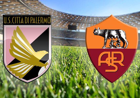 Palermo-Roma 0-3 Risultato Finale