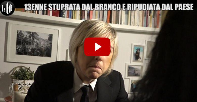 Ragazzina Stuprata in Calabria: Nadia Toffa, Servizio Le Iene (Video 12 marzo 2017)