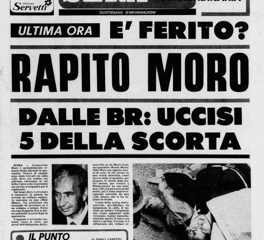 Accadde Oggi 16 marzo: Rapimento di Aldo Moro 3