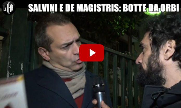 Scontro Salvini-De Magistris: Servizio Le Iene 15 marzo 2017 (Video)