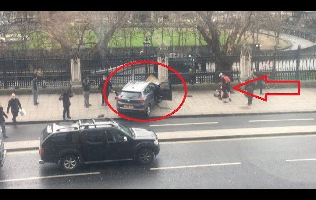 Londra Attentato al Parlamento: Feriti in strada (Video)