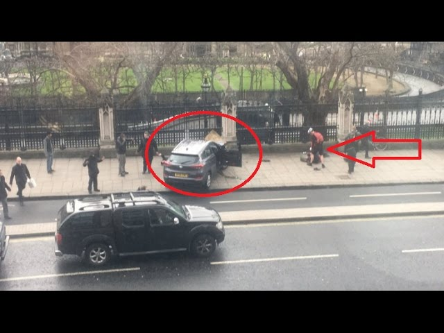 Londra Attentato al Parlamento: Feriti in strada (Video)