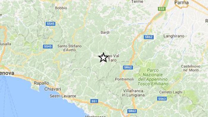 Terremoti ingv lista in tempo reale scosse di oggi 31 for Ingv lista terremoti di oggi
