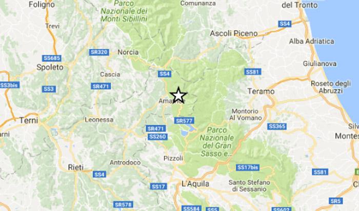 scosse di terremoto oggi 21 aprile lista ingv