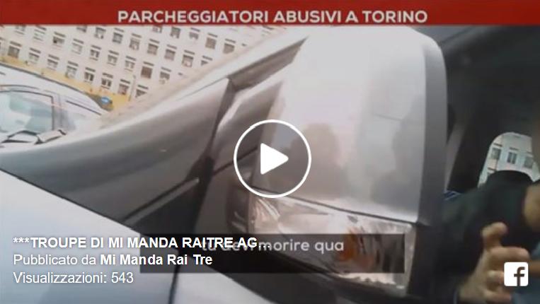 Mi Manda RaiTre, aggredita la Troupe a Torino (Video)