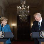 Trump e Merkel primo incontro ufficiale