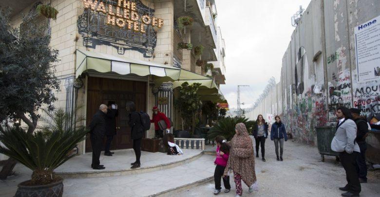 Bansky Hotel: a Betlemme la struttura con vista muro