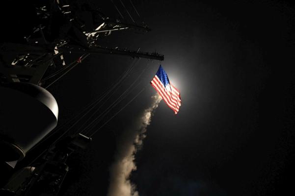Bombardamenti Tomahawk Usa in Siria