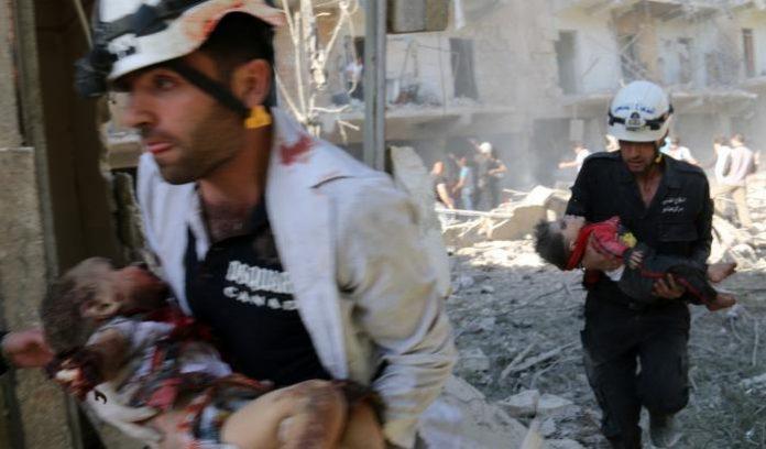Bombardamento Siria, Strage di Bambini: 58 morti